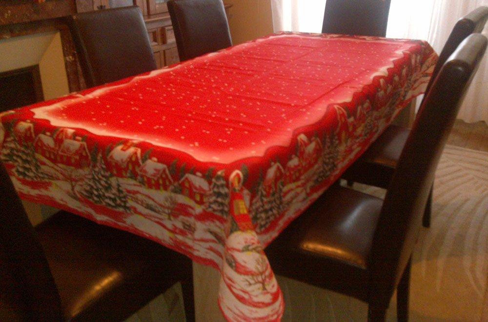 nappes de no l mettez de la couleur sur vos tables at bienvenue dans l univers des nappes anti. Black Bedroom Furniture Sets. Home Design Ideas